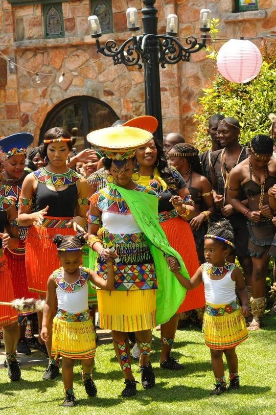 Awesome African Traditional Wedding Dress South African Wedding