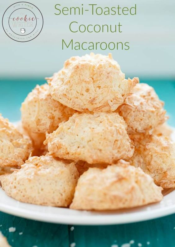 Delicious Coconut Macaroons | Recipe | Coconut Macaroons, Macaroons ...