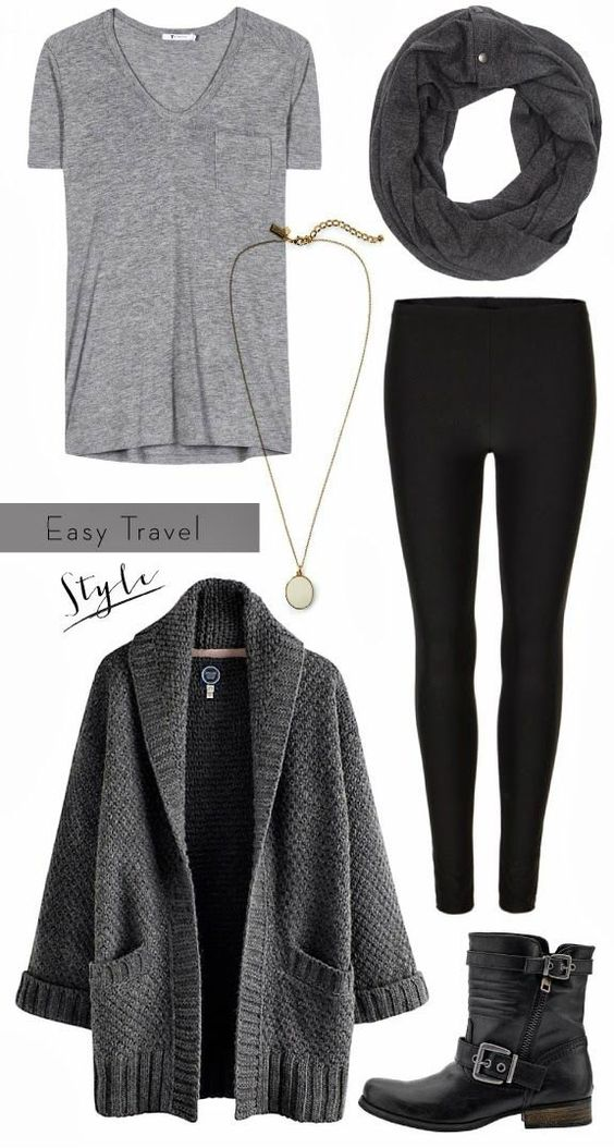 This is my winter uniform, boots leggings and a long sweater!: