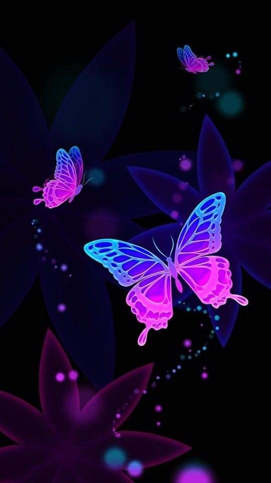 Pin By Tina Sweetheart On Achtergronden Butterfly Wallpaper Iphone Neon Wallpaper Butterfly Wallpaper Backgrounds