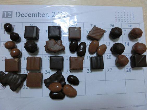 La Maison du Chocolat  christmas 2013 advent calendar
