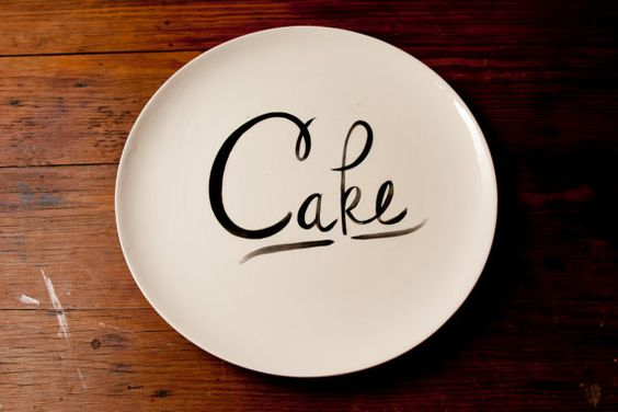 cake plate by young alexander #etsy
