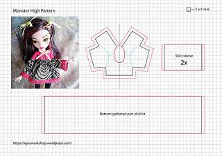 Monster High Pattern 2 | par threeeyedghoul