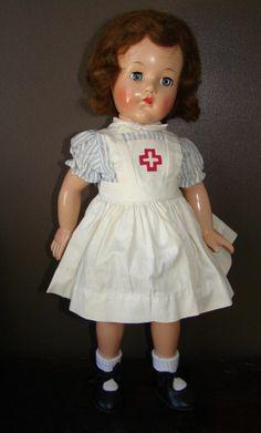 vintage nancy nurse doll - Recherche Google