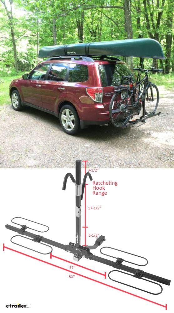 Swagman Xc 2 Bike Rack Platform Style For 1 1 4 And 2 Trailer Hitches Swagman Hitch Bike Racks S64 Hitch Bike Rack Bike Rack Bike Transporting