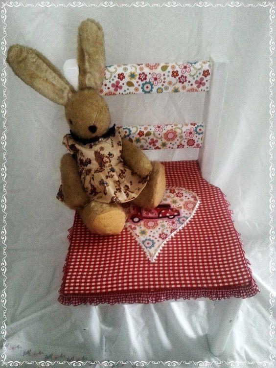 süßer Kinderstuhl, mit liebe neu gestaltet....:-)))