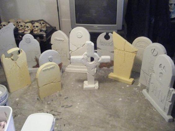 Pinterest • The world's catalog of ideas ~ 204817_Halloween Decorating Ideas Tombstones