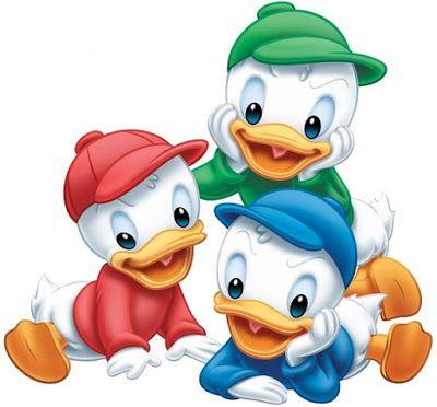 Mimeria Huguinho Zezinho E Luizinho Huguinho Zezinho E Luizinho Fatos Da Disney Personagens Da Disney Bebes