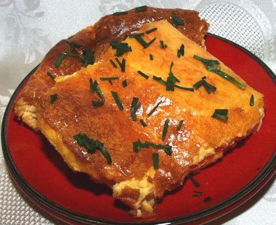 Souffle - Grandma's Cheese Pudding