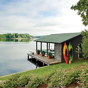 Natural Georgia Lake House Natural Georgia Lake House: Summer Lake House < Naturally Inspired Georgia Lake House - Southern Living Mobile