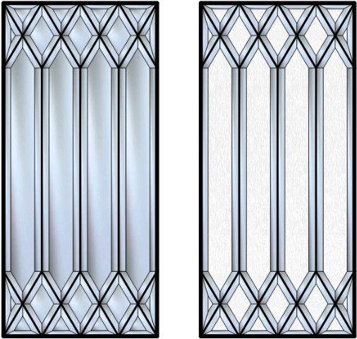 Beveled Glass Glass Design And Glasses On Pinterest