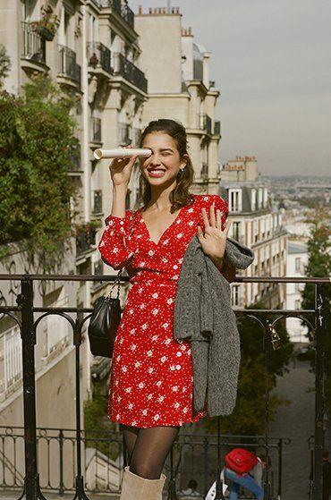 Robe cache cœur, l'indispensable de la romance parisienne