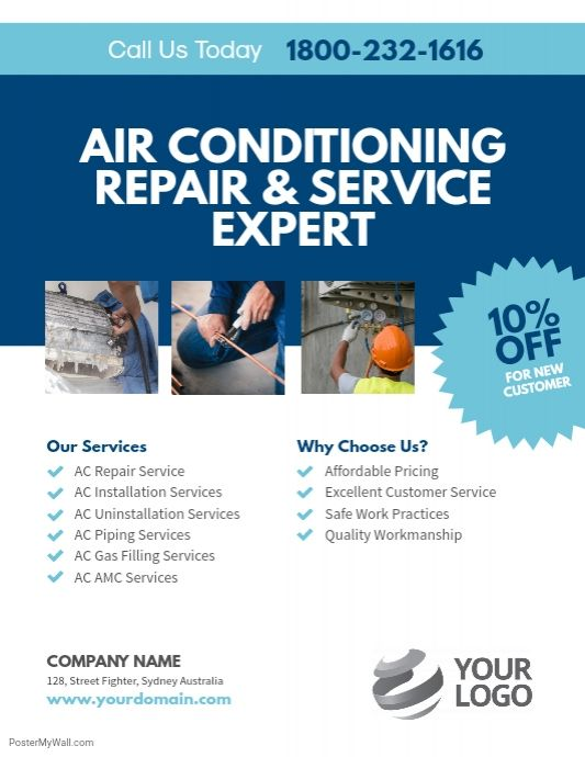A hvac pricing guide will generally contain price lists, standard operations or checklists, warranty details and discounts. Ac Repair Services Flyer Template Ac Repair Services Air Conditioning Repair Ac Repair