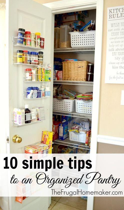 10 Sencillos consejos para organizar la despensa   -   10 simple tips to an Organized Pantry