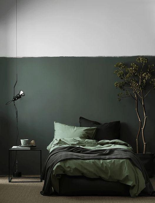 donkere kleuren muurverf