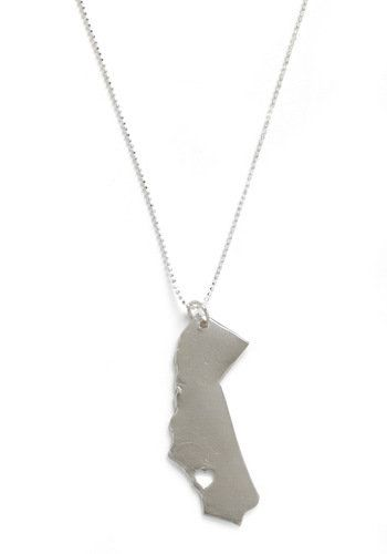 Land That I Love Necklace in California  