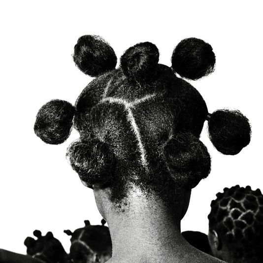 African Hair. Nigerian ceremonial hair for passage to adulthood. By photographer.  | J. D. 'Okhai Ojeikere