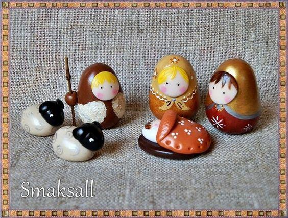 nativité:crèche poupées russes