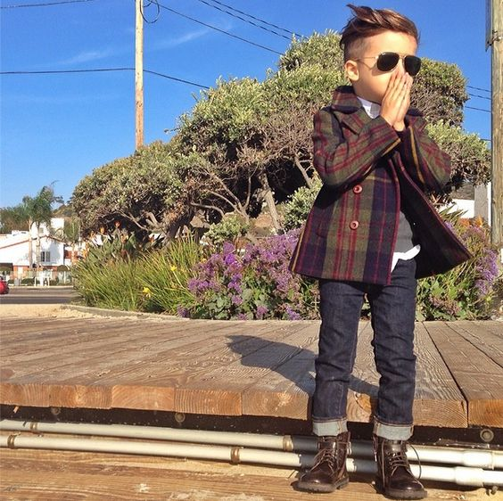 ALONSO MATEO - This 5year old boy dresses better than me.