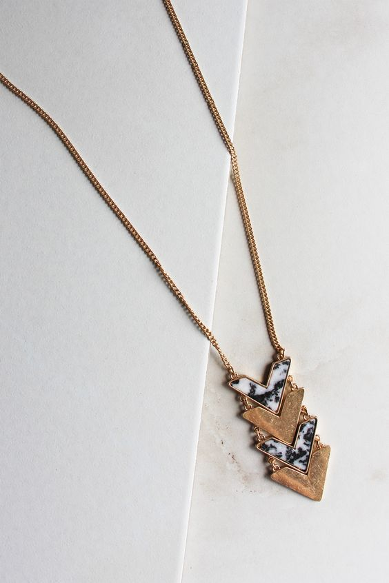 Directions Necklace