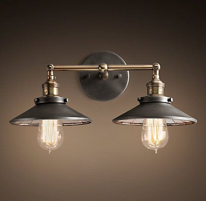 Pinterest the world s catalog of ideas Restoration hardware bathroom lighting