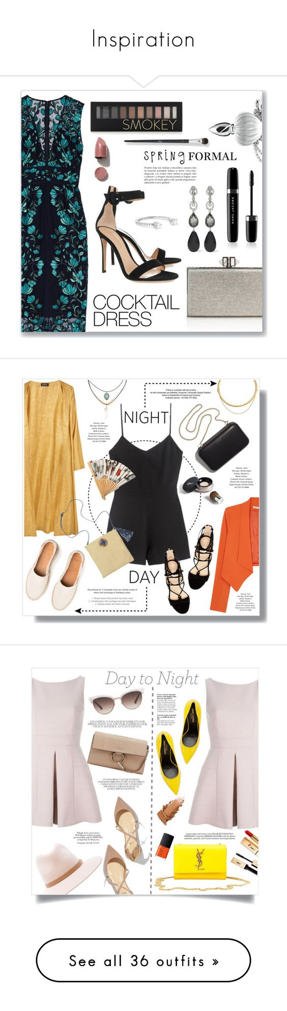 """""""Inspiration"""" by de-rossi ❤ liked on Polyvore featuring Lela Rose, Gianvito Rossi, Judith Leiber, Oscar de la Renta, Delfina Delettrez, Libertine, Marc Jacobs, N°21, Forever 21 and polyvoreeditorial"""