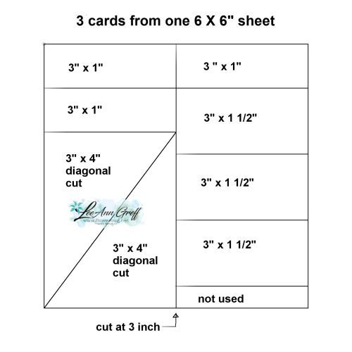 A New Template For 6 X 6 Designer Paper Makes 3 Fast Cute Cards Flowerbug S Inkspot Card Sketches Templates Card Making Templates Cute Cards