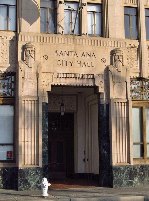 City Hall Santa Ana,California