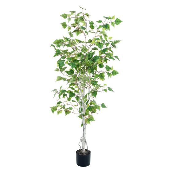 Pure Garden 5 ft. Artificial Birch Tree - 50-10014