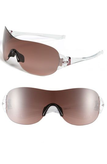 oakley prescription sunglasses birmingham  oakley 'miss conduct?' rimless shield sunglasses