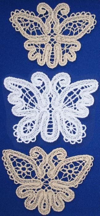 Advanced Embroidery Designs - FSL Battenberg Butterfly Lace Set