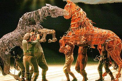 amazing use of puppetry, War Horse