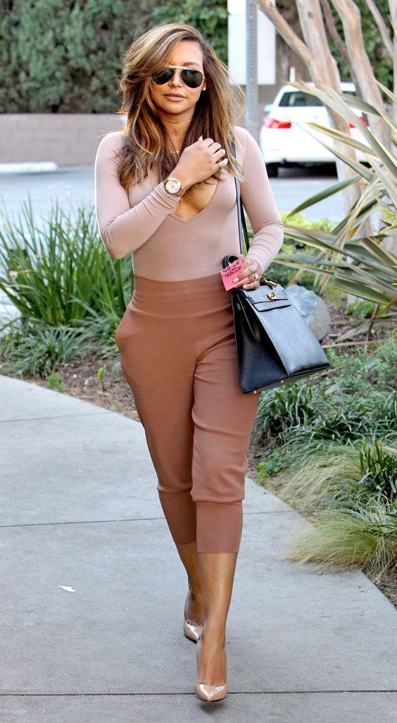 Naya Rivera running errands in Los Angeles