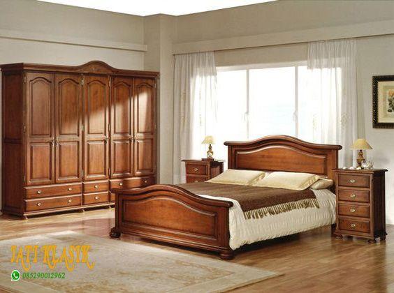 Model Tempat Tidur Kayu Minimalis