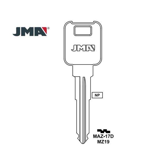 1990 - 1996 JMA Mazda Mechanical Key / MZ19 / X201