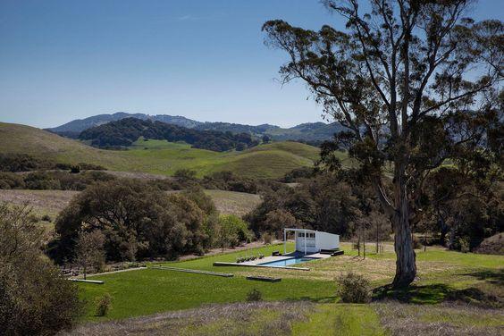 Rancho Hupomone diseño de Turnbull Griffin Haesloop. Foto: ©David Wakely