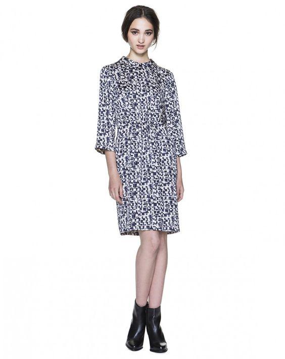 Printed dress - DRESSES - WOMAN