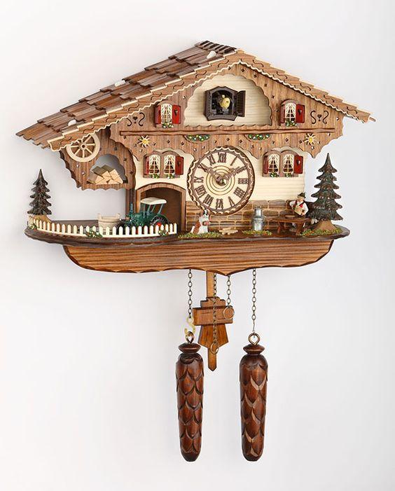 Kuckucksuhr (Quarz) Chalet 28cm - Trenkle Uhren - 481QM