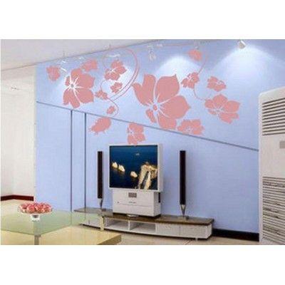 Este Atacado DIY decorativa Flores Adesivo Mural etiqueta da parede do decalque é um item maravilhoso para decorar sua sala. Price R$12,99