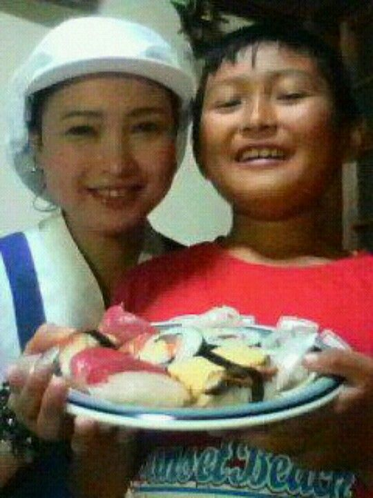 Me and my son love Sushi!!.......