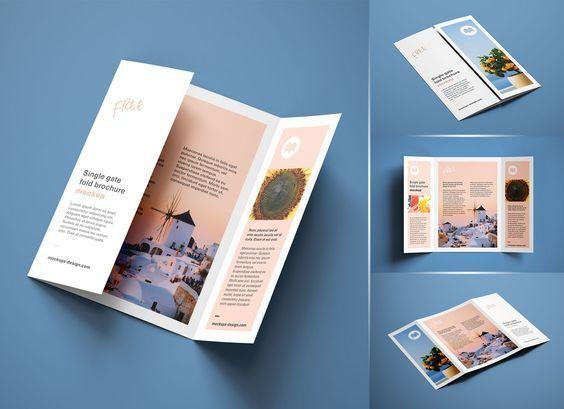 Three Fold Brochure Design In 2021 Graphic Design Brochure Brochure Design Creative Brochure Design Layout