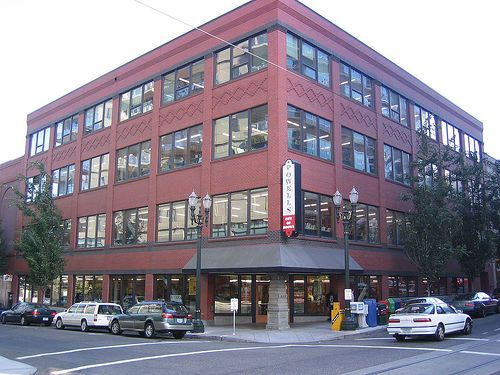 Powells Book Store  Portland Oregon ~ huge wonderful store!
