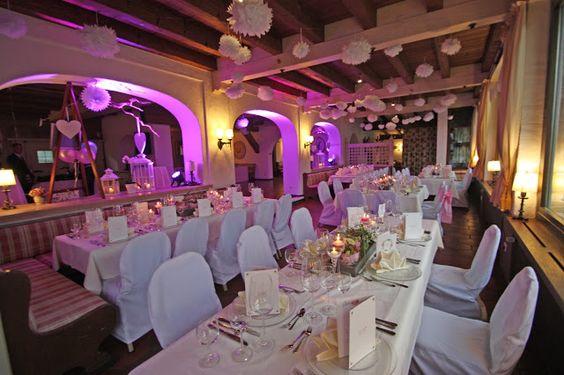 Hochzeit im See-Restaurant, Seehaus am Riessersee, Garmisch-Partenkirchen, Bayern