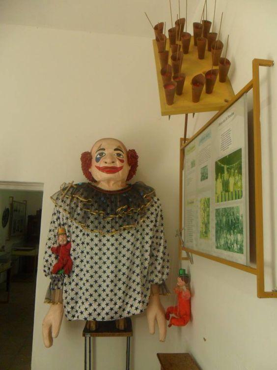 Boneco no Museu Municipal em Gravatá - PE
