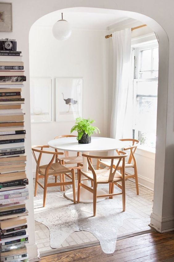 Dining Room Affordable Rustic Dining Room Tables 6 Black Steel Chairs Have  3 Flowers Pot On The Table Above Laminate Wood Floor Front Kitchen Cabinets  ...