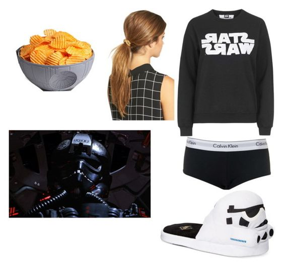 """""""star wars day"""" by azaleav2004 ❤ liked on Polyvore featuring interior, interiors, interior design, home, home decor, interior decorating, Topshop, Ficcare, Bioworld and ThinkGeek"""