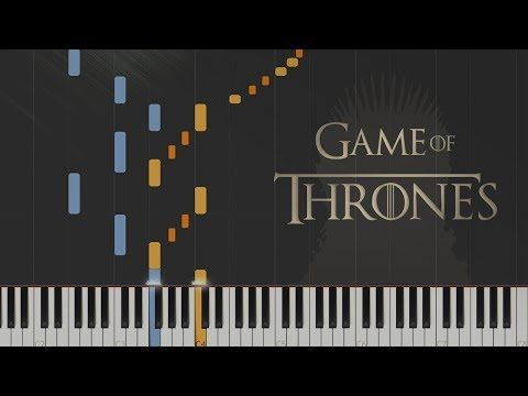 Game Of Thrones Main Theme Synthesia Piano Tutorial Youtube Piano Tutorial Piano Piano Games