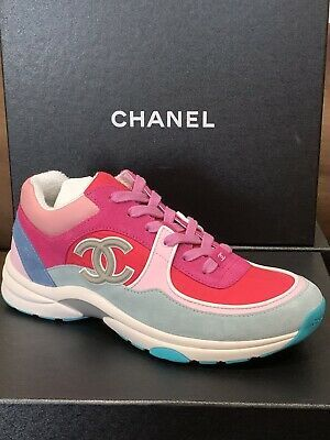 Authentic CHANEL Trainers Sneakers - CC