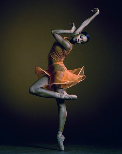 Ballet is a common language that everyone shares...simply beautiful, but this is not Misty.
