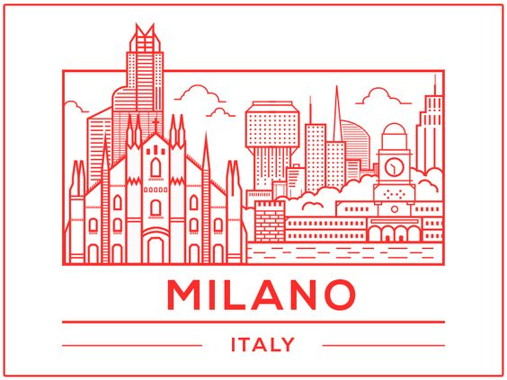 Made a version of Milano for practice. Some historic milanese buildings and some fantasy buildings. Chers!